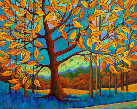 Beneath the Golden Leaves -  Peggy Davis - McGaw Graphics