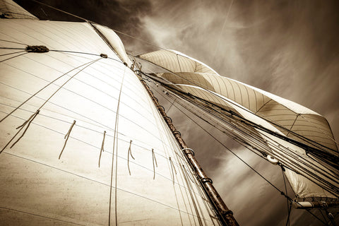 All Sails Set -  Jim Dugan - McGaw Graphics