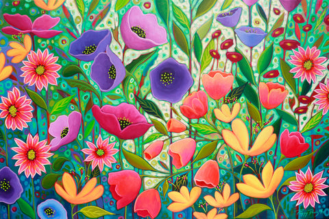 Peggy Davis - Enchanted Garden