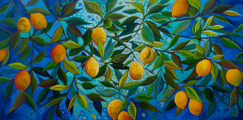Lemon Tree -  Peggy Davis - McGaw Graphics