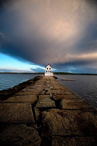 Rockland Breakwater Lighthouse, Rockland, Maine -  Jim Dugan - McGaw Graphics