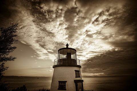 Owls Head Lighthouse at Sunrise -  Jim Dugan - McGaw Graphics