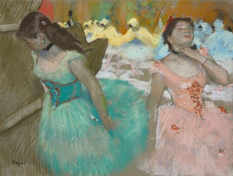 Entrance of the Masked Dancers, c. 1879 -  Edgar Degas - McGaw Graphics