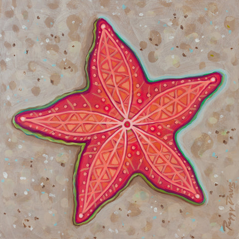 Happy Starfish IV -  Peggy Davis - McGaw Graphics