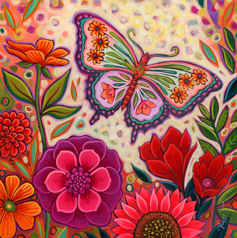 Butterfly Floral -  Peggy Davis - McGaw Graphics