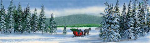Dashing Through the Snow -  Kevin Daniel - McGaw Graphics