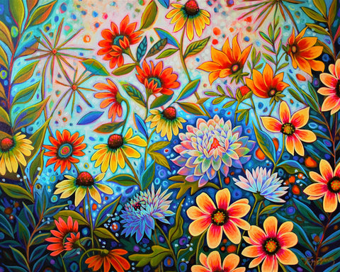 Crazy Daisies -  Peggy Davis - McGaw Graphics