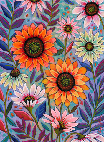 Summer Sunflowers -  Peggy Davis - McGaw Graphics