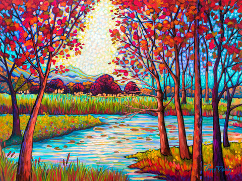 Autumn at the Pond -  Peggy Davis - McGaw Graphics