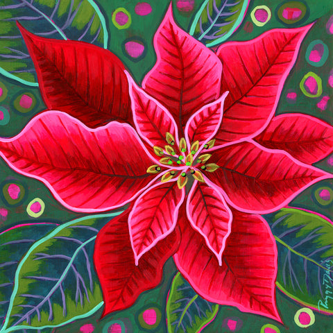 Red Poinsettia I -  Peggy Davis - McGaw Graphics