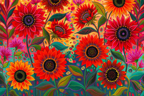 For the Love of Sunflowers (Garden) - McGaw Graphics
