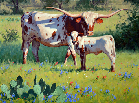 Longhorn Spring - McGaw Graphics