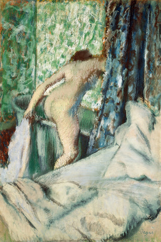 Nude Lady, The Morning Bath, ca. 1887-1890