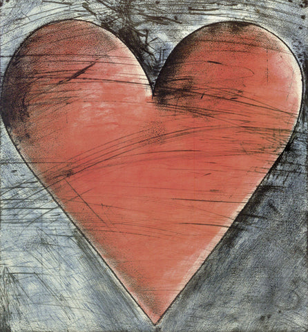 The Philadelphia Heart -  Jim Dine - McGaw Graphics