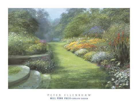 English Garden -  Peter Ellenshaw - McGaw Graphics