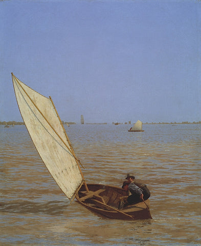 Thomas Eakins - Starting Out After Rail, 1874