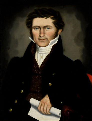 Erastus Salisbury Field - Gentleman of Squire Williams House, ca. 1829