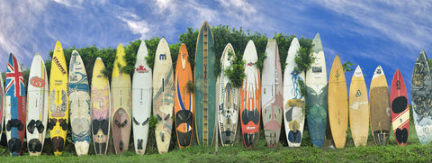 Surfboard Fence -  Dennis Frates - McGaw Graphics
