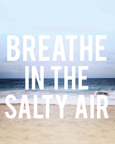 Salty Air -  Leah Flores - McGaw Graphics
