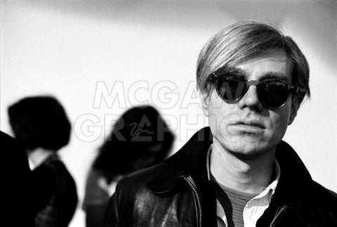 Andy Warhol, 1966 (2) -  Andy Warhol/ Nat Finkelstein - McGaw Graphics