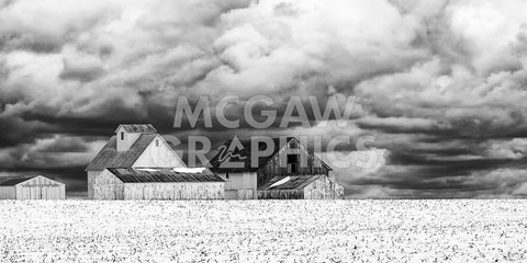 Five White Barns -  Trent Foltz - McGaw Graphics