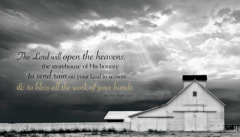 White Picket Fence (The Lord will open the heavens...) -  Trent Foltz - McGaw Graphics