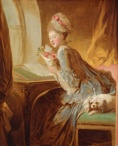 The Love Letter, early 1770s -  Jean-Honore Fragonard - McGaw Graphics