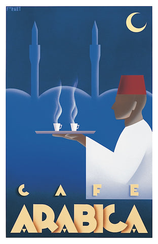 Cafe Arabica -  Steve Forney - McGaw Graphics