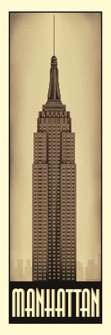 Manhattan -  Steve Forney - McGaw Graphics