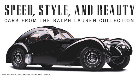 Michael Furman - Speed, Style, and Beauty: Cars From the Ralph Lauren Collection