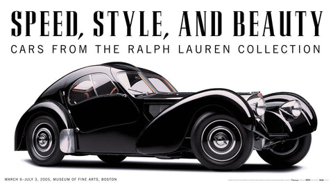 Speed, Style, and Beauty: Cars From the Ralph Lauren Collection -  Michael Furman - McGaw Graphics