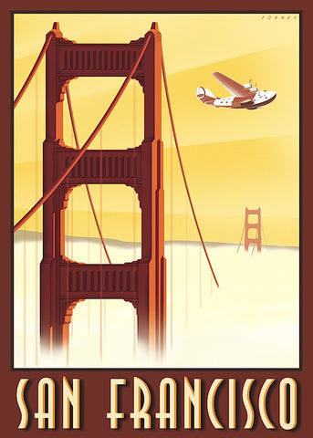 San Francisco -  Steve Forney - McGaw Graphics