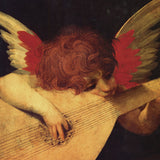 Musical Angel -  Rosso Fiorentino - McGaw Graphics