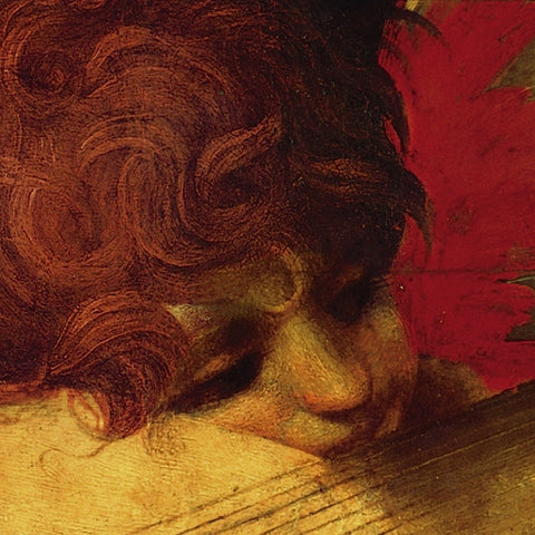 Musical Angel (detail) -  Rosso Fiorentino - McGaw Graphics