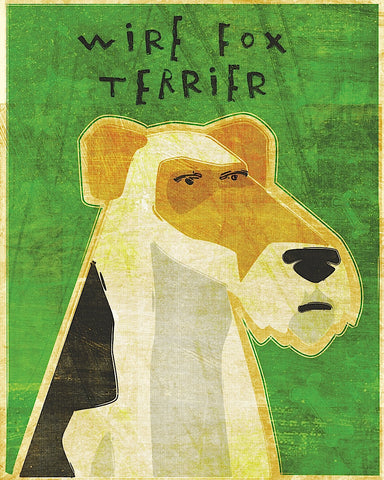 Wire Fox Terrier -  John W. Golden - McGaw Graphics