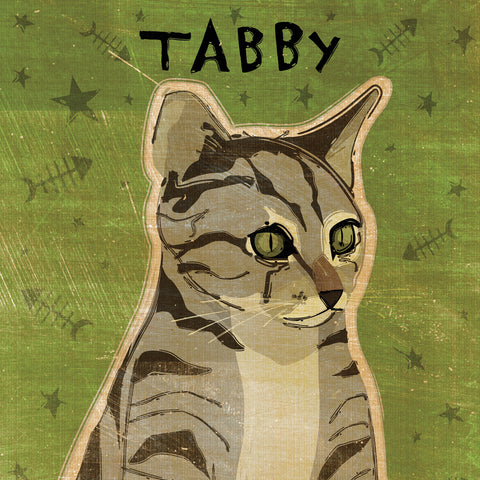 Tabby (grey) (square) -  John W. Golden - McGaw Graphics
