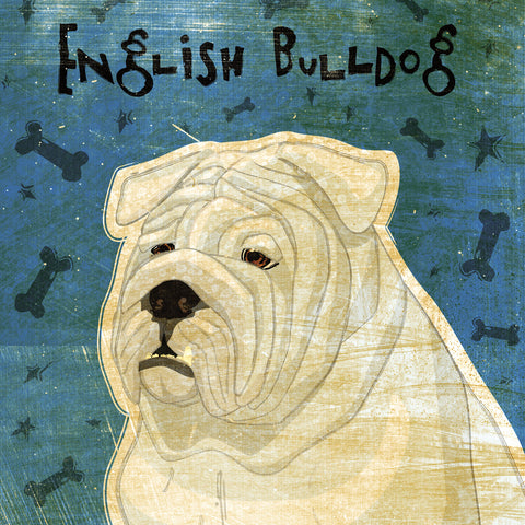 English Bulldog (square) -  John W. Golden - McGaw Graphics
