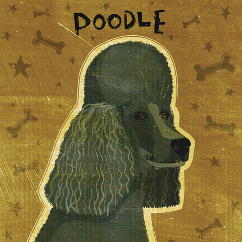 Poodle (black) (square) -  John W. Golden - McGaw Graphics