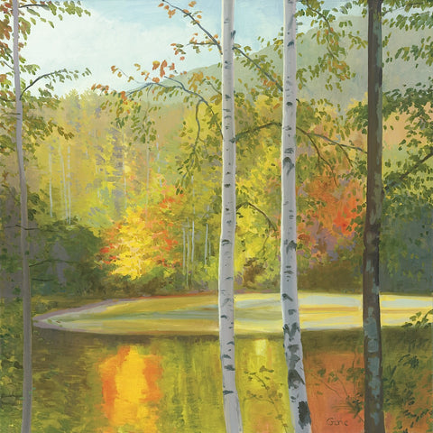 Cooper Lake, Autumn -  Elissa Gore - McGaw Graphics