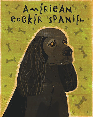 John W. Golden - American Cocker Spaniel (black)