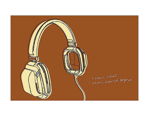 Lunastrella Headphones -  John W. Golden - McGaw Graphics