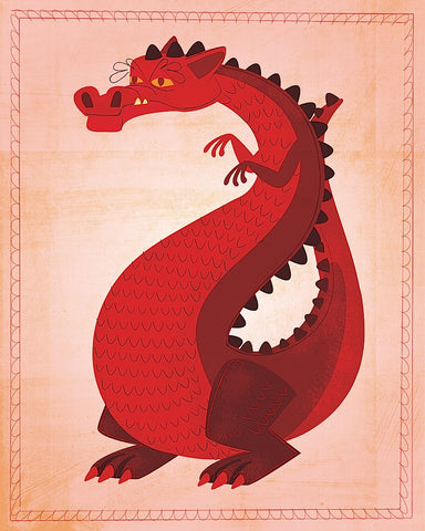 Red Dragon -  John W. Golden - McGaw Graphics