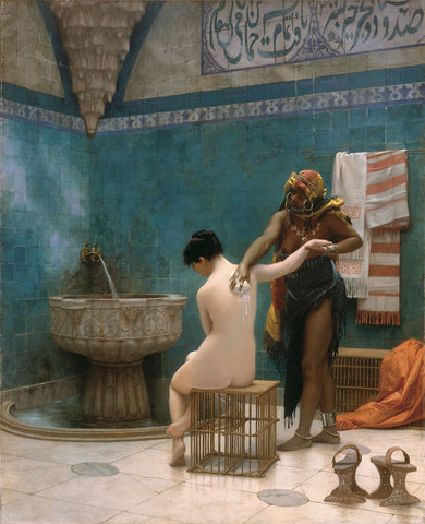 Jean-Léon Gerome - The Bath, ca. 1880-1885