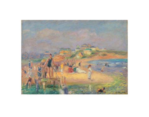 Good Harbor Beach, 1919 -  William James Glackens - McGaw Graphics
