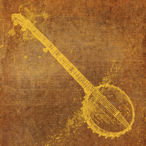 Banjo -  John W. Golden - McGaw Graphics