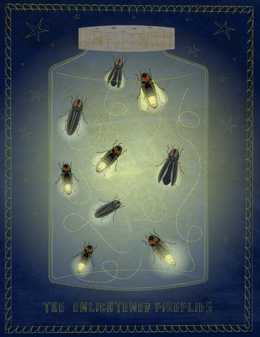 The Enlightened Fireflies -  John W. Golden - McGaw Graphics