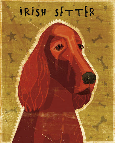 John W. Golden - Irish Setter
