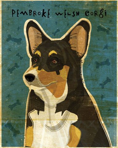 John W. Golden - Pembroke Welsh Corgi (Tri-Color)