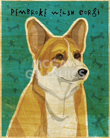 Pembroke Welsh Corgi -  John W. Golden - McGaw Graphics
