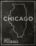 Chicago, Illinois -  John W. Golden - McGaw Graphics
